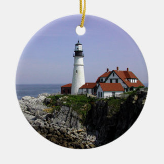 """Portland Light"" Lighthouse Ornament"