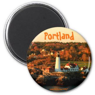 Portland Maine Lighthouse photography magnet