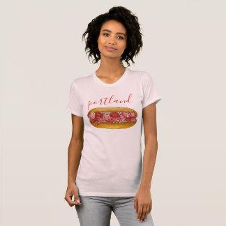 Portland Maine ME Lobster Roll Seafood Sandwich T-Shirt