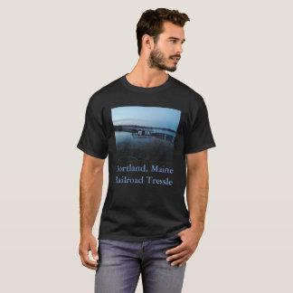 Portland, Maine Railroad Tressle T-Shirt