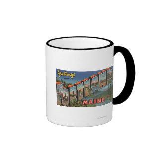 Portland, Maine (River Scene) Mug