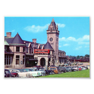 Portland, Maine Union Station 1950 Prints Art Photo