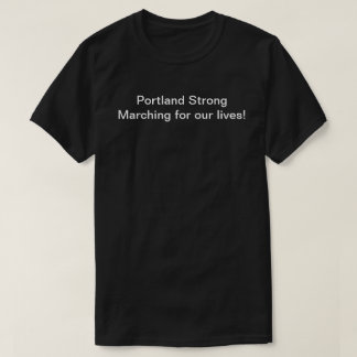 Portland March for our lives, long sleeve T-Shirt