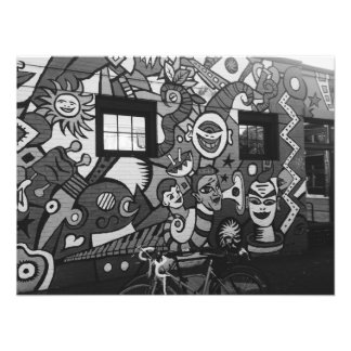 Portland Mural Photographic Print