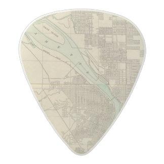 Portland, Or Acetal Guitar Pick