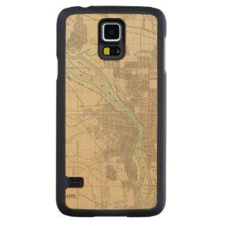 Portland, Or Carved Maple Galaxy S5 Case