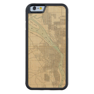 Portland, Or Carved Maple iPhone 6 Bumper Case