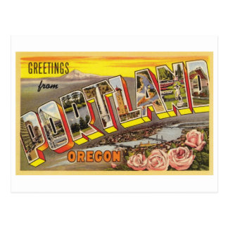 Portland, OR Large Letter Card