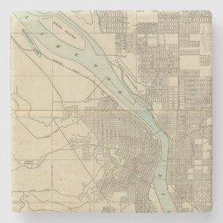 Portland, Or Stone Coaster