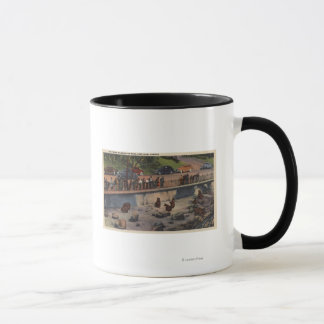 Portland, ORBear Dens in Washington Park Mug
