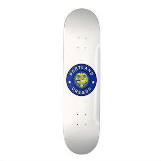Portland Oregon 21.6 Cm Old School Skateboard Deck