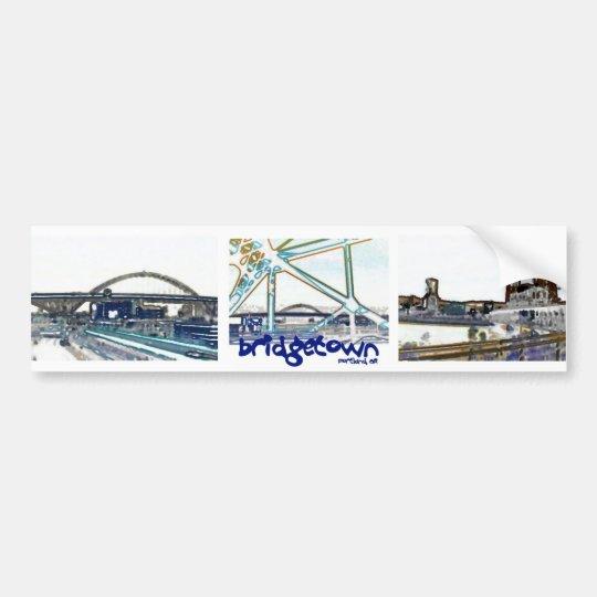 "Portland Oregon ""Bridgetown"" Bumper Sticker"