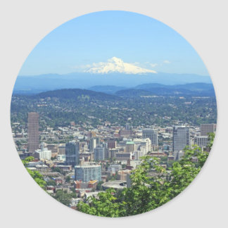 Portland Oregon City and Mountain View Stickers