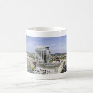 Portland Oregon Downtown and Mt Hood Mug