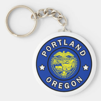 Portland Oregon Key Ring