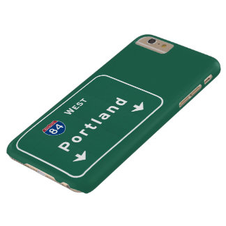 Portland Oregon or Interstate Highway Freeway : Barely There iPhone 6 Plus Case