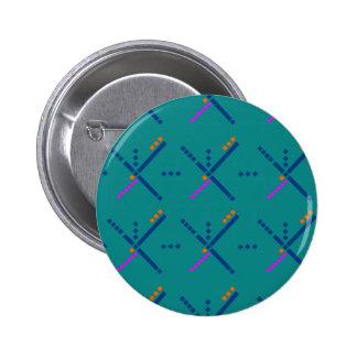 Portland Oregon PDX Airport Carpet 6 Cm Round Badge