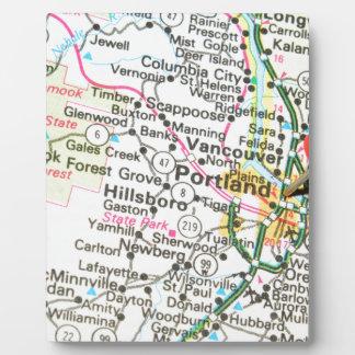 Portland, Oregon Plaque