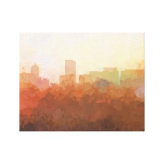 PORTLAND, OREGON SKYLINE-In the Clouds Canvas Canvas Print