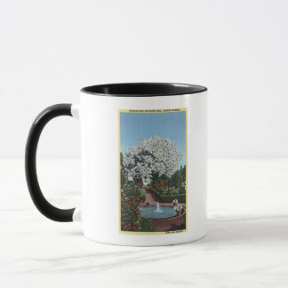 Portland, Oregon - Spanish Pool and Ghost Tree Mug