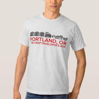 Portland, Oregon - The Crap Developer's ATM Tees