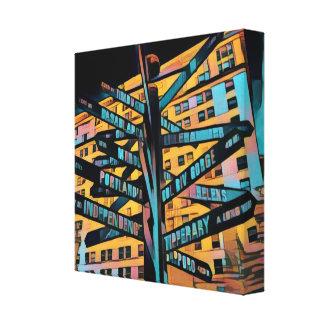 Portland Pioneer Square Canvas Print