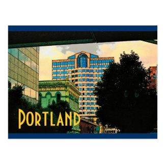Portland Postcard (Yellow)