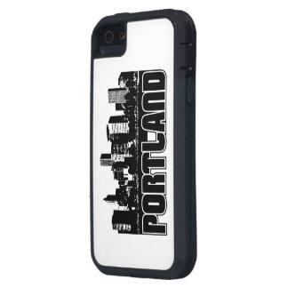 Portland Skyline iPhone 5 Covers
