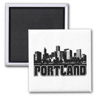 Portland Skyline Magnet
