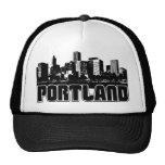 Portland Skyline Mesh Hat