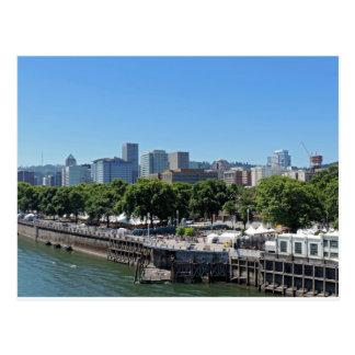 Portland Skyline Postcard
