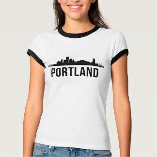 Portland Skyline Silhouette T-Shirt
