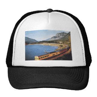 Portland Streamliner, Columbia River Gorge Vintage Mesh Hats