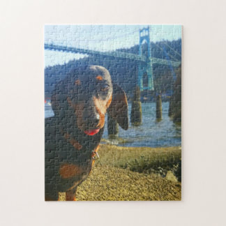 Portland With Love Jigsaw Puzzle