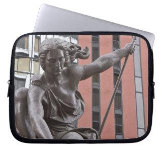 Portlandia statue, Portland, Oregon Laptop Sleeve