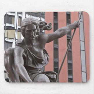 Portlandia statue, Portland, Oregon Mouse Mat