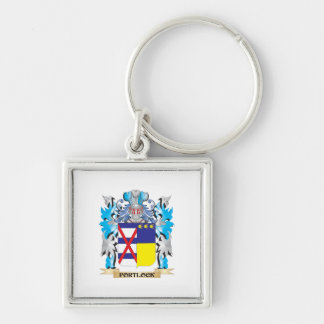 Portlock Coat of Arms - Family Crest Keychains