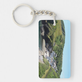 Portloe Cornwall England Key Ring