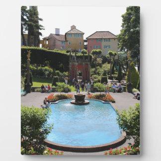 Portmeirion Fountain Plaques