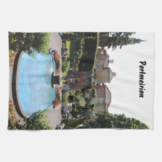 Portmeirion Fountain Tea Towel