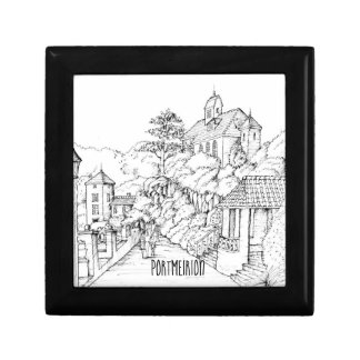 Portmeirion North Wales Pen and Ink Sketch Gift Box