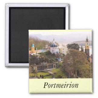 Portmeirion Square Magnet