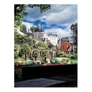 Portmeirion Wales UK Postcard