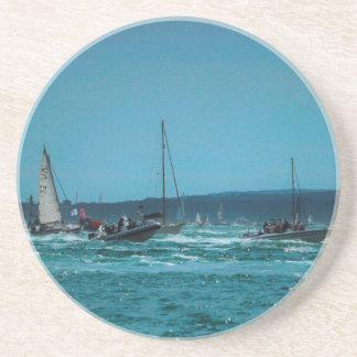 Portmouth Harbour Boat Race Coaster