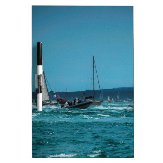 Portmouth Harbour Boat Race Dry Erase Board
