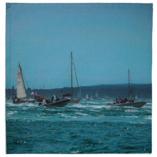 Portmouth Harbour Boat Race Napkin