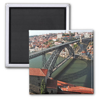 Porto city Iron Bridge, Portugal Magnet