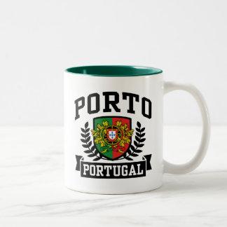 Porto Portugal Two-Tone Coffee Mug
