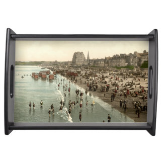 Portobello Beach, Edinburgh, Scotland Serving Tray