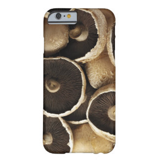 Portobello Mushrooms on White Background Barely There iPhone 6 Case